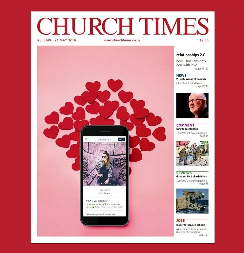 Lauren Windle Journalist Church Times