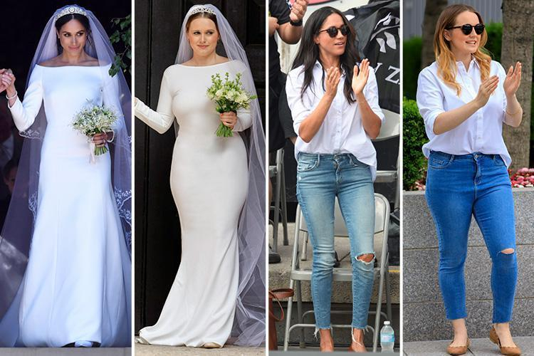 Lauren Windle Journalist Can you REALLY replicate Meghan Markle's £700k designer wardrobe on a budget