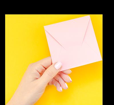 Lauren Windle contact envelope